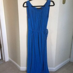 The limited blue maxi dress